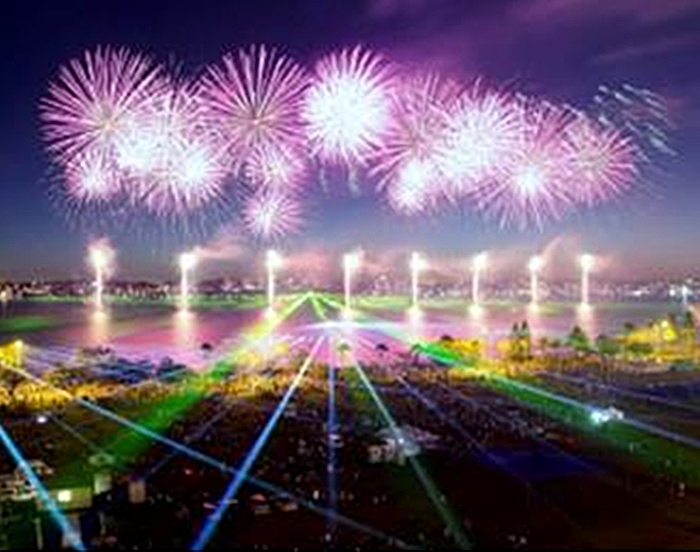 Downer's Solar CCTV Solution Guarantees Community Safety at Australia Day Skyworks 2016